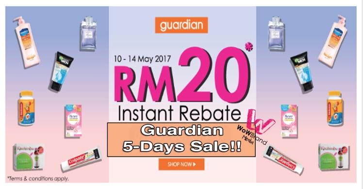 Guardian 5 days sale
