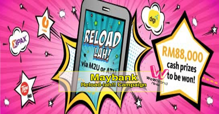 reload lah campaign copy
